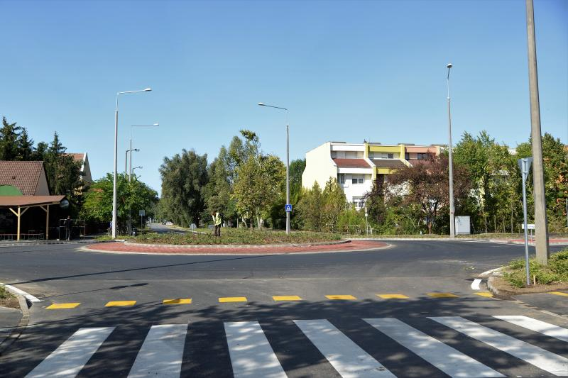 Korányi Frigyes utcai körforgalom