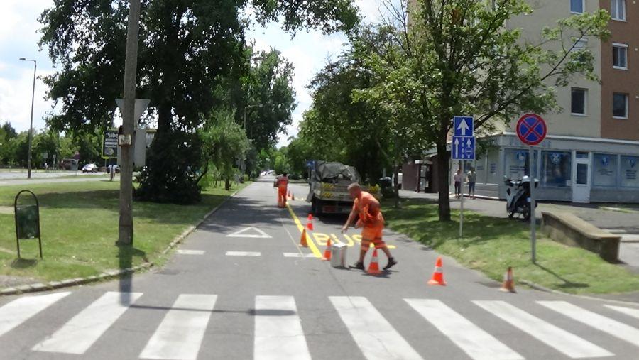 Körforgalommal bővül és újul meg a Korányi Frigyes utca