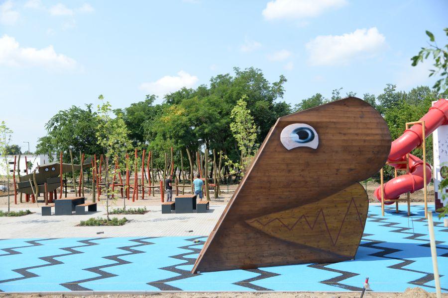 Közlekedési park épül a Kertvárosban