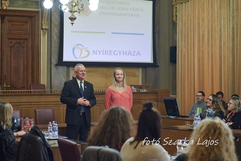 Külföldi pedagógusok a Városházán