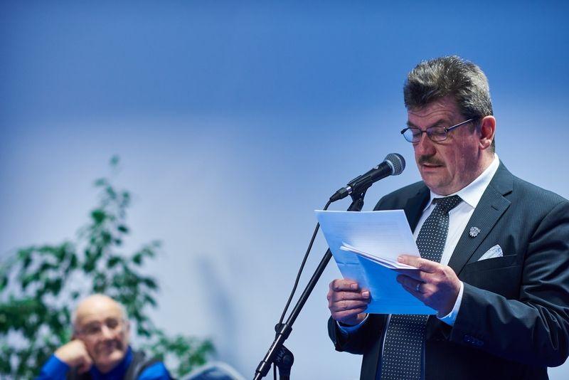 L. Tóth László köszöntése