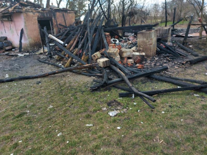 Lakatlan ház égett