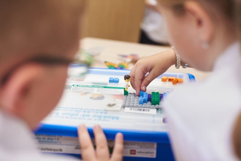 LEGO tanterem az Eötvös iskolában