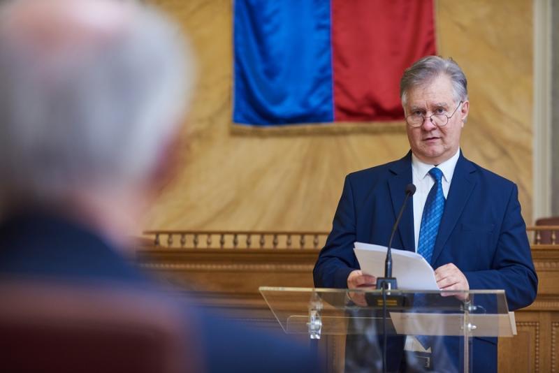 Magyar Érdemrend Lovagkereszt kitüntetés átadó a Városházán