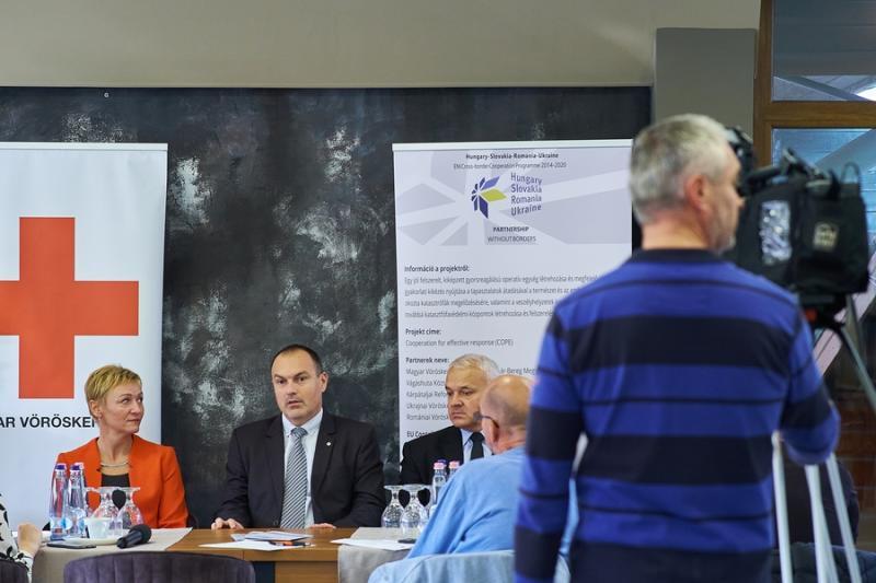 Magyar Vöröskereszt sajtótájékoztatója 20211014