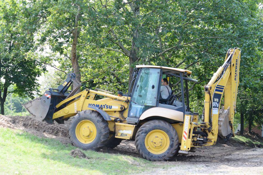 Megkezdődött a Robinson domb felújítása