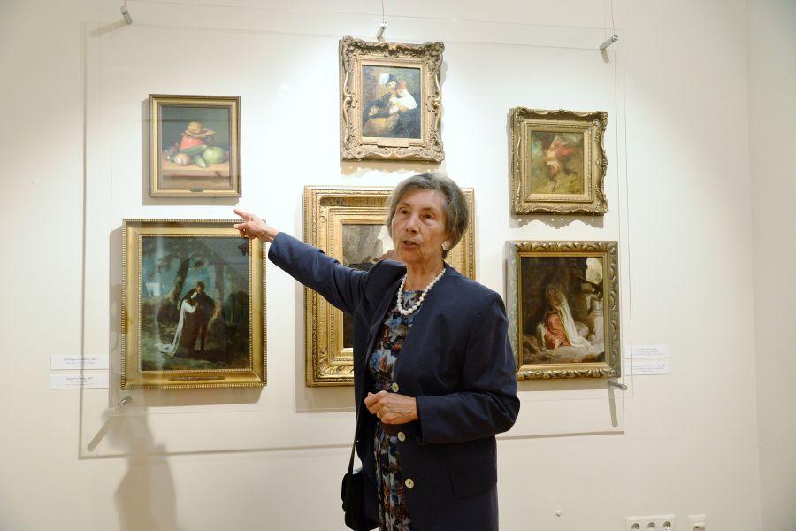 Megnyílt a Szinyei kiállítás