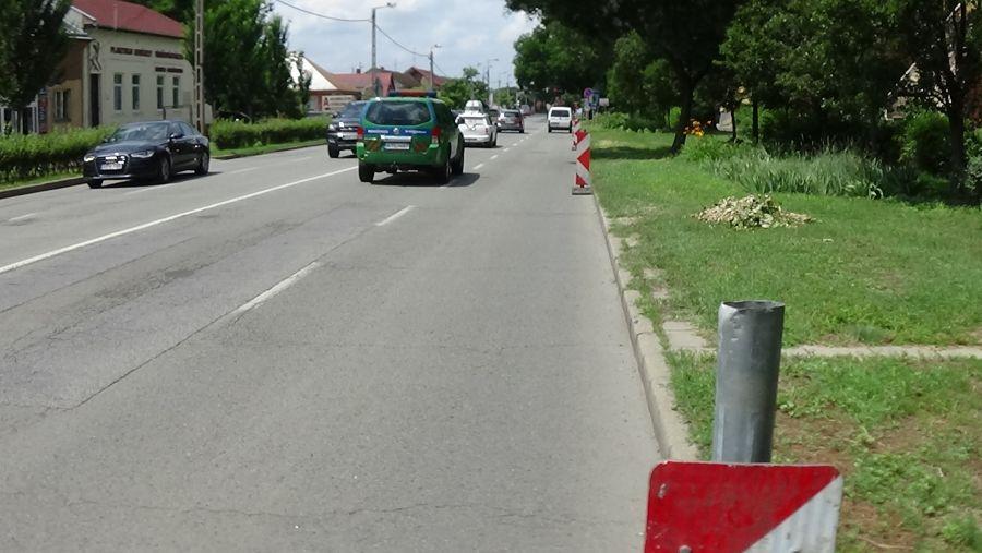 Megújul a Rákóczi utca burkolata