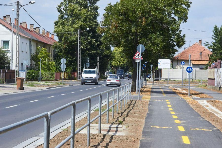 Megújult a Derkovits utca