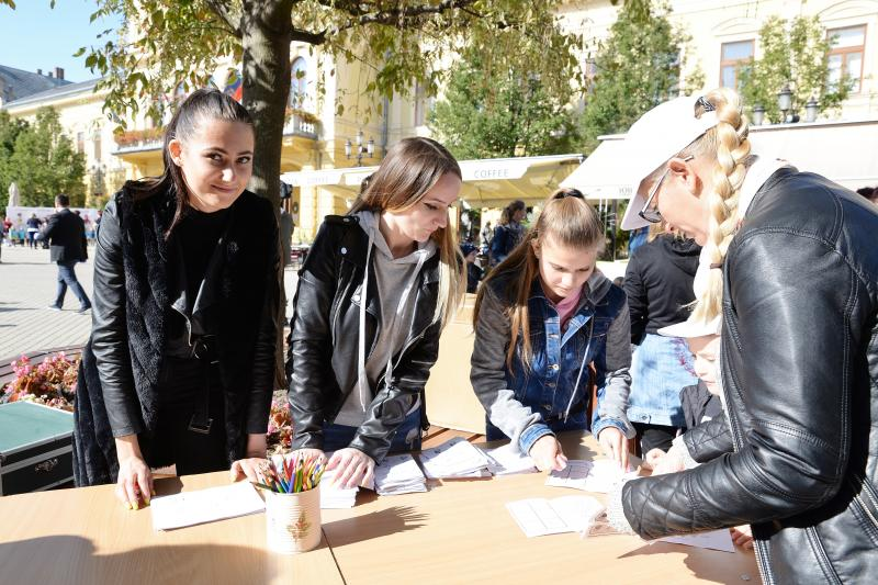 Mini Tirpák Fesztivál a Kossuth téren