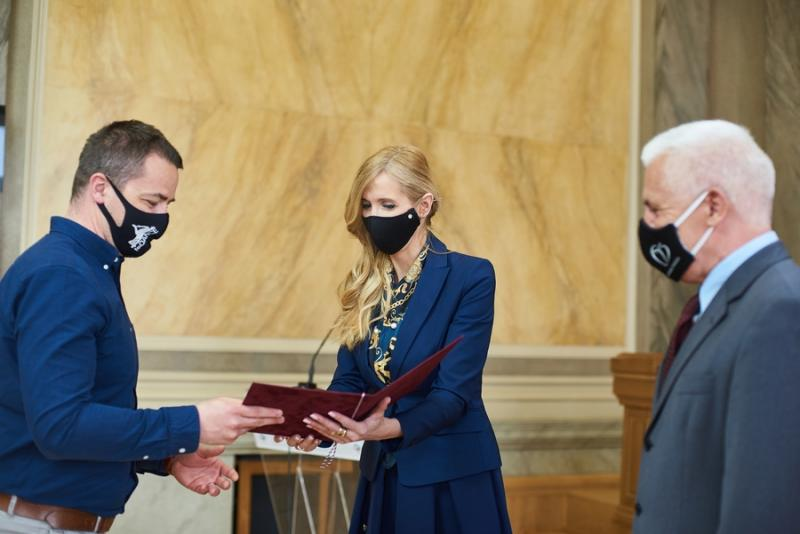 Miniszteri elismerés a 4fordance részére