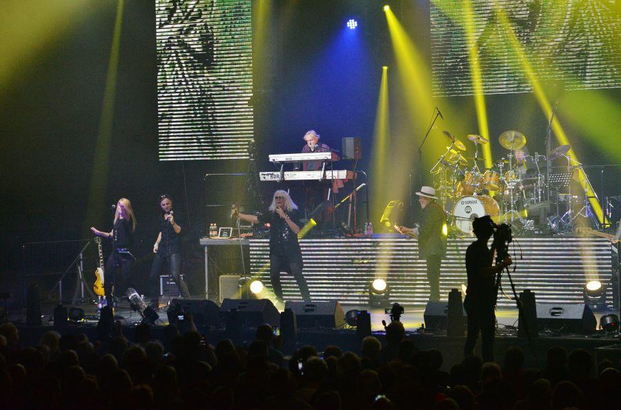 Nagysikerű Omega koncert Nyíregyházán