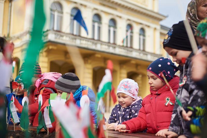 Nemzeti ünnepre készülve ovisokkal