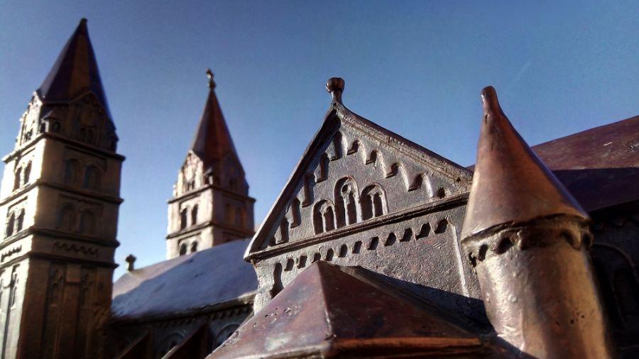 Nyíregyháza belvárosa Nagypénteken