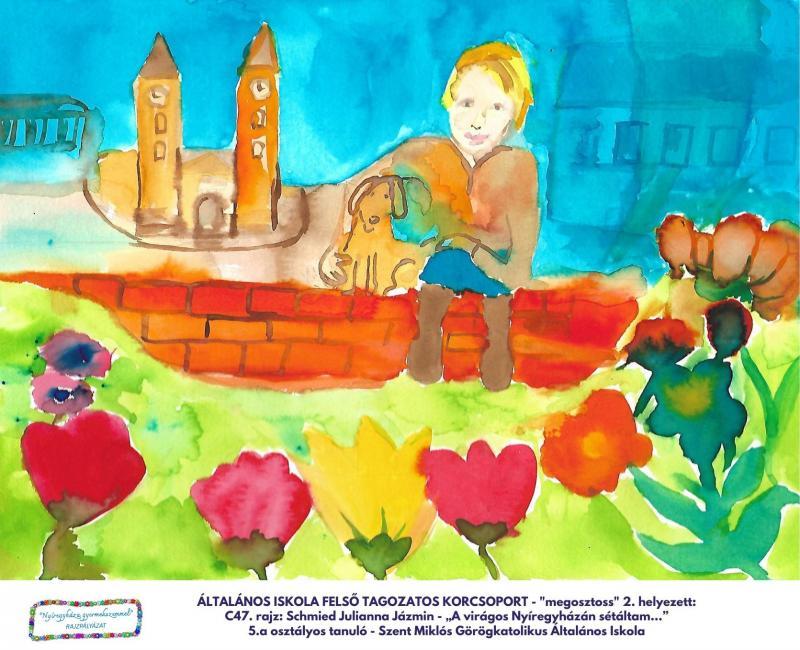 Nyíregyháza gyermekszemmel rajzpályázat