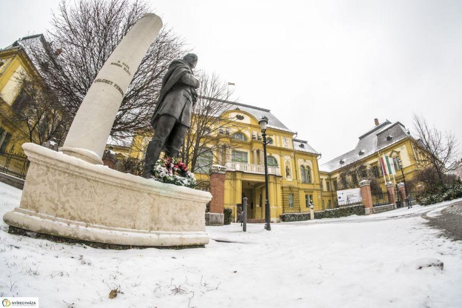 Nyíregyháza hófödte belvárosa