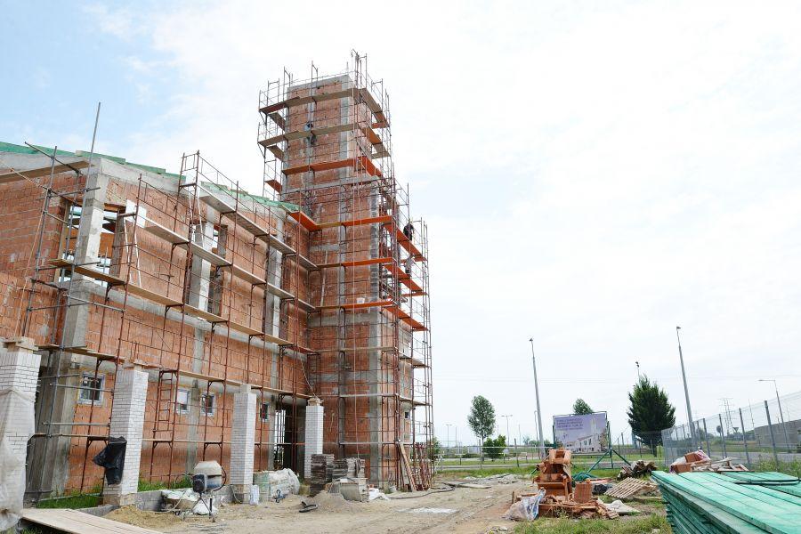 Nyíregyháza-Örökösföld református templom építése