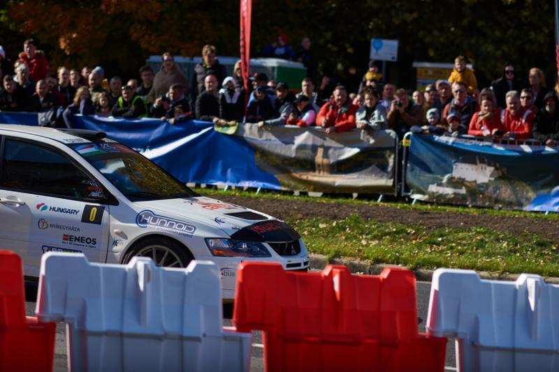 Nyíregyháza Rally 2021 - gyorsasági szakasz belváros