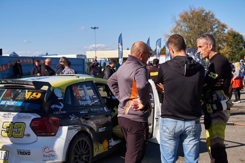 Nyíregyháza Rally 2021 - szervízpark