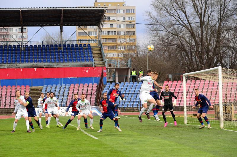 Nyiregyháza Spartacus-Budaörs labdarúgó mérkőzés