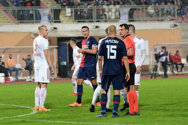 Nyiregyháza Spartacus - Debrecen Loki labdarúgó mérkőzés