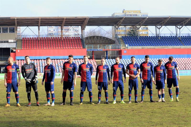 Nyiregyhaza Spartacus - ETO FC Győr labdarúgó mérkőzés