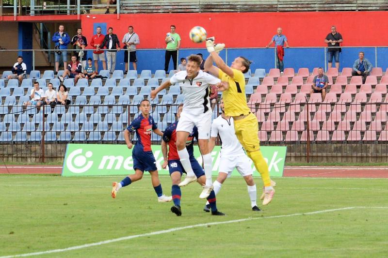 Nyíregyháza Spartacus-Pécs labdarúgó mérkőzés