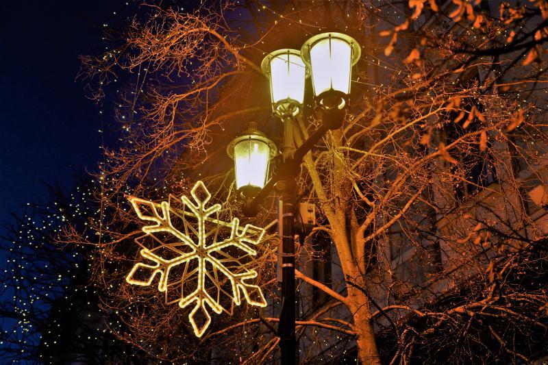 Nyíregyháza ünnepi fényei