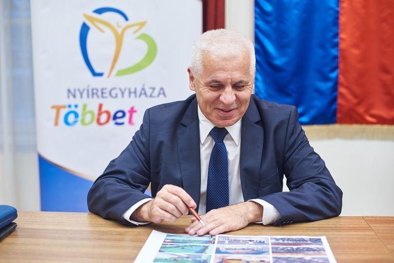 Nyíregyházi Atlétikai Centrum szerződés aláírás