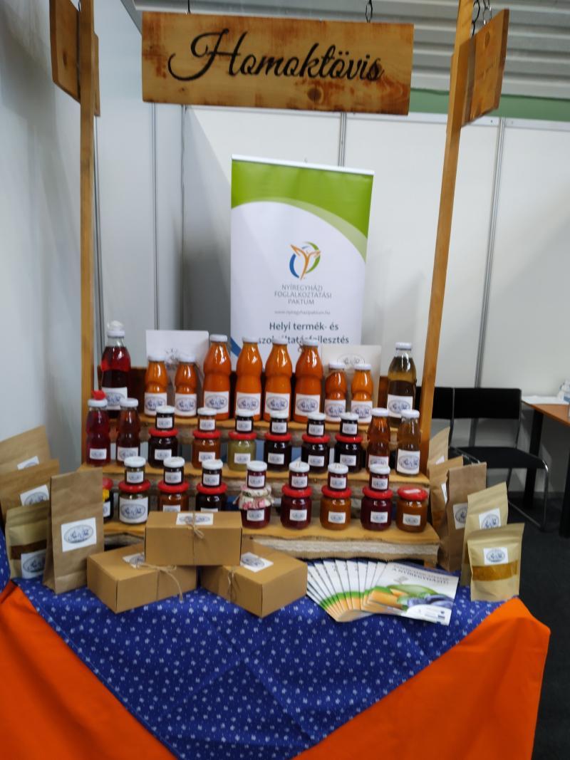 Nyíregyházi helyi termékek a FarmerExpon
