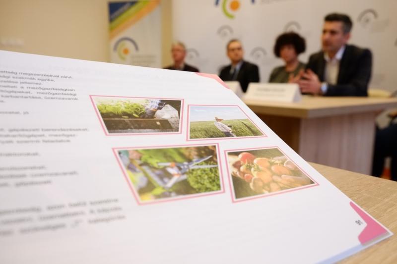 Nyíregyházi Szakképzési Centrum beiskolázási sajtótájékoztatója