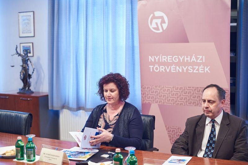 Nyíregyházi Törvényszék évértékelője