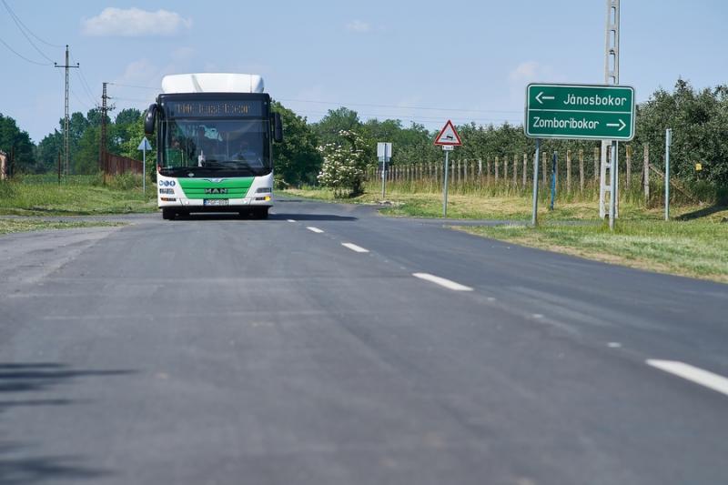 Nyíregyházi útfejlesztések - bokortanyák