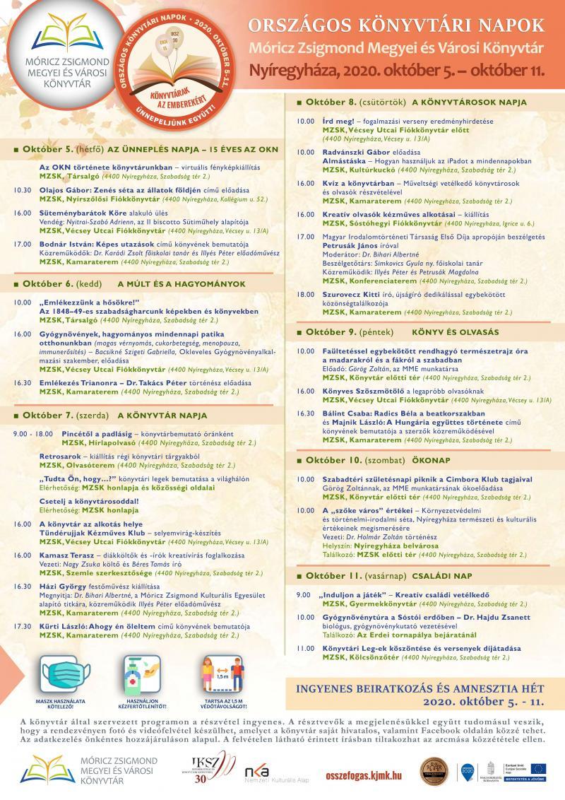 Országos Könyvtári Napok plakátok