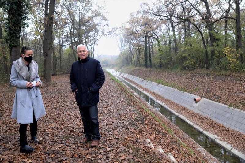 Polgármesteri bejárás az Igrice patak mentén