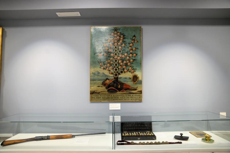 Polgármesteri szemle a Kállay Gyűjtemény épületében