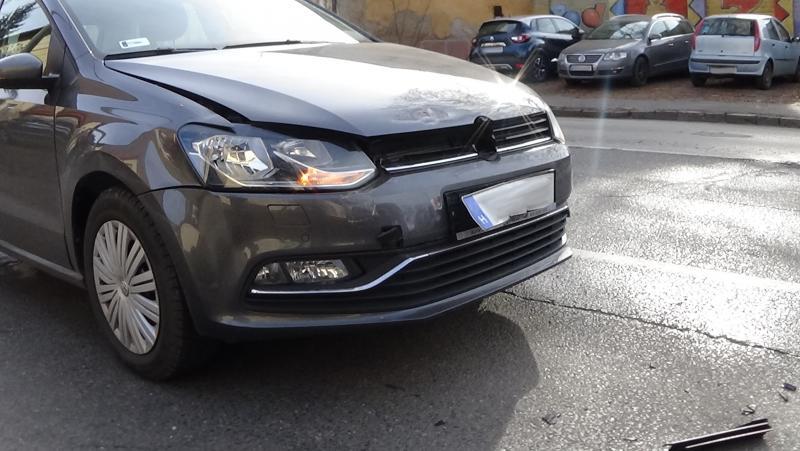 Ráfutásos baleset a Debreceni úton