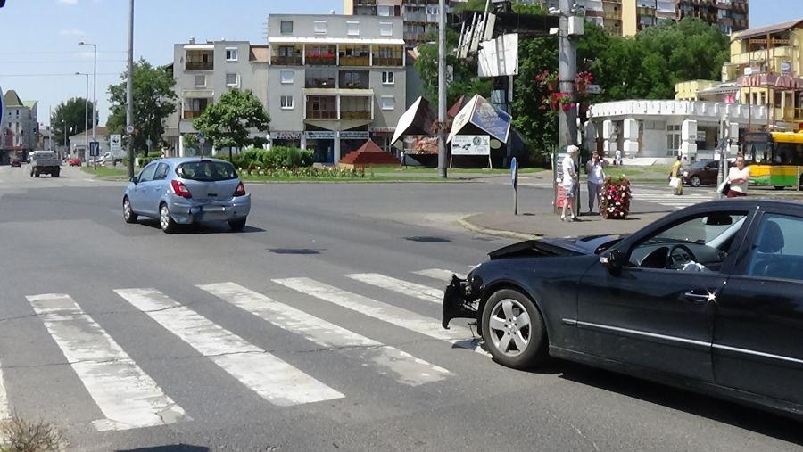 Ráfutásos baleset a Vay Ádám körúton