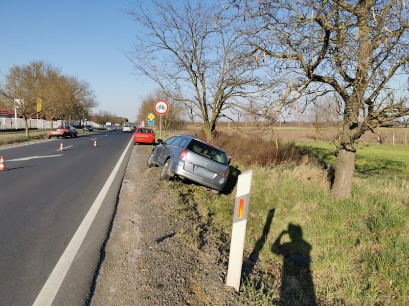 Ráfutásos baleset Nyírtura és Nyírpazony között