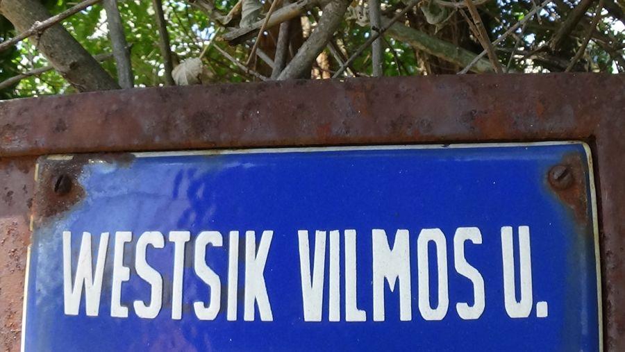 Sebességkorlátozás a Westsik Vilmos úton