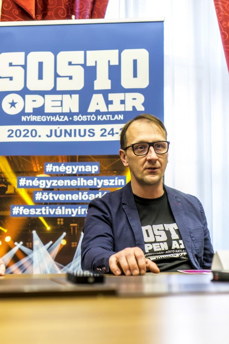 SÓSTÓ OPEN AIR - Sajtótájékoztató a városházán