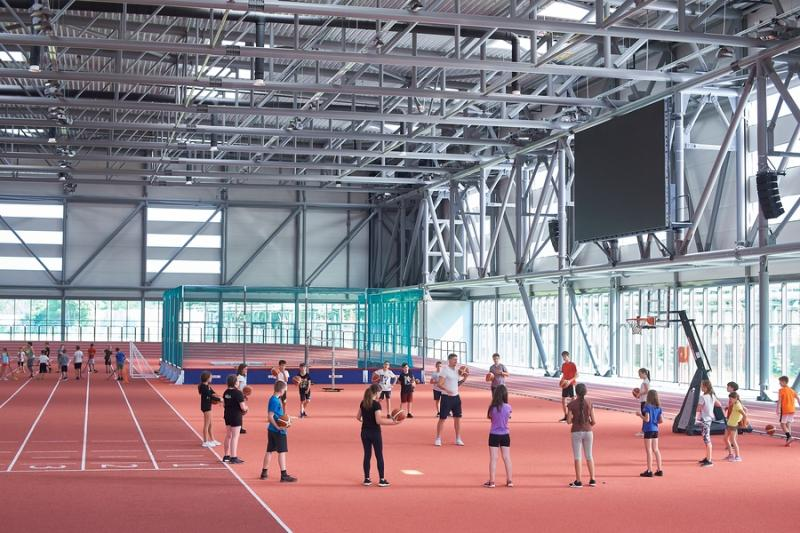 Sporttábor az Atlétikai Centrumban