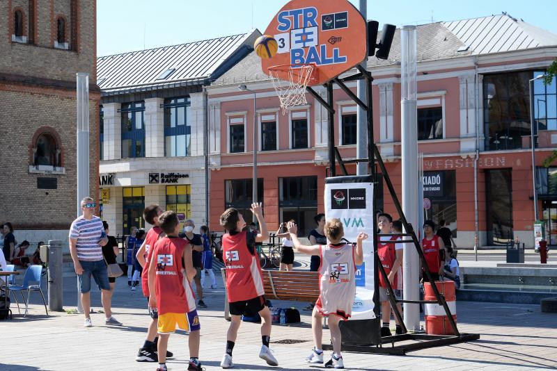 Streetball a Kossuth téren