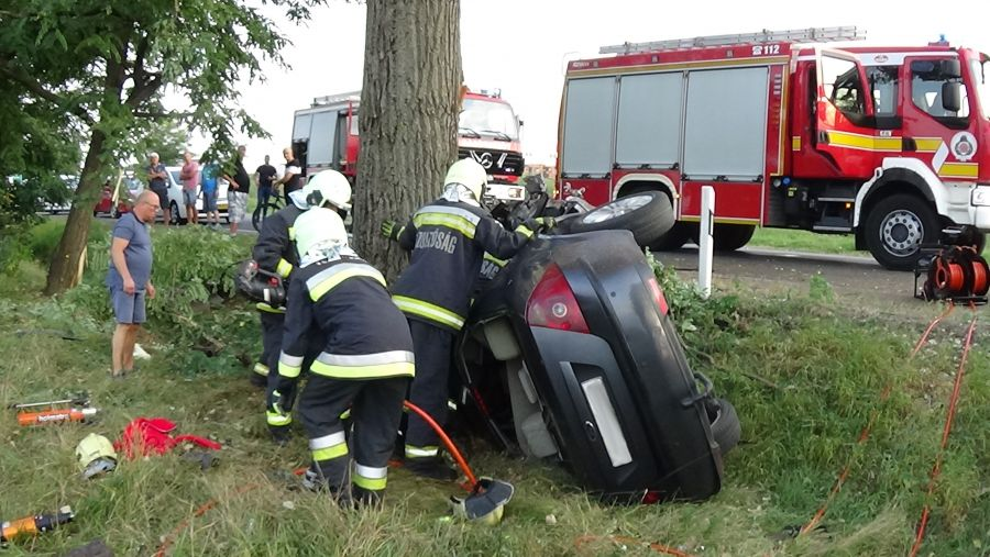 Súlyos baleset a 38-as főútvonalon