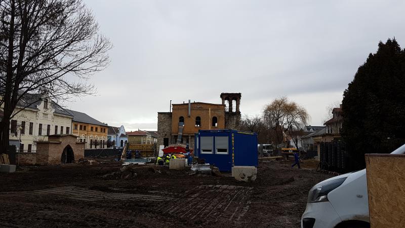 Szabadtéri Színpad rekonstrukciója és a Kiserdők területének funkcionális bővítése
