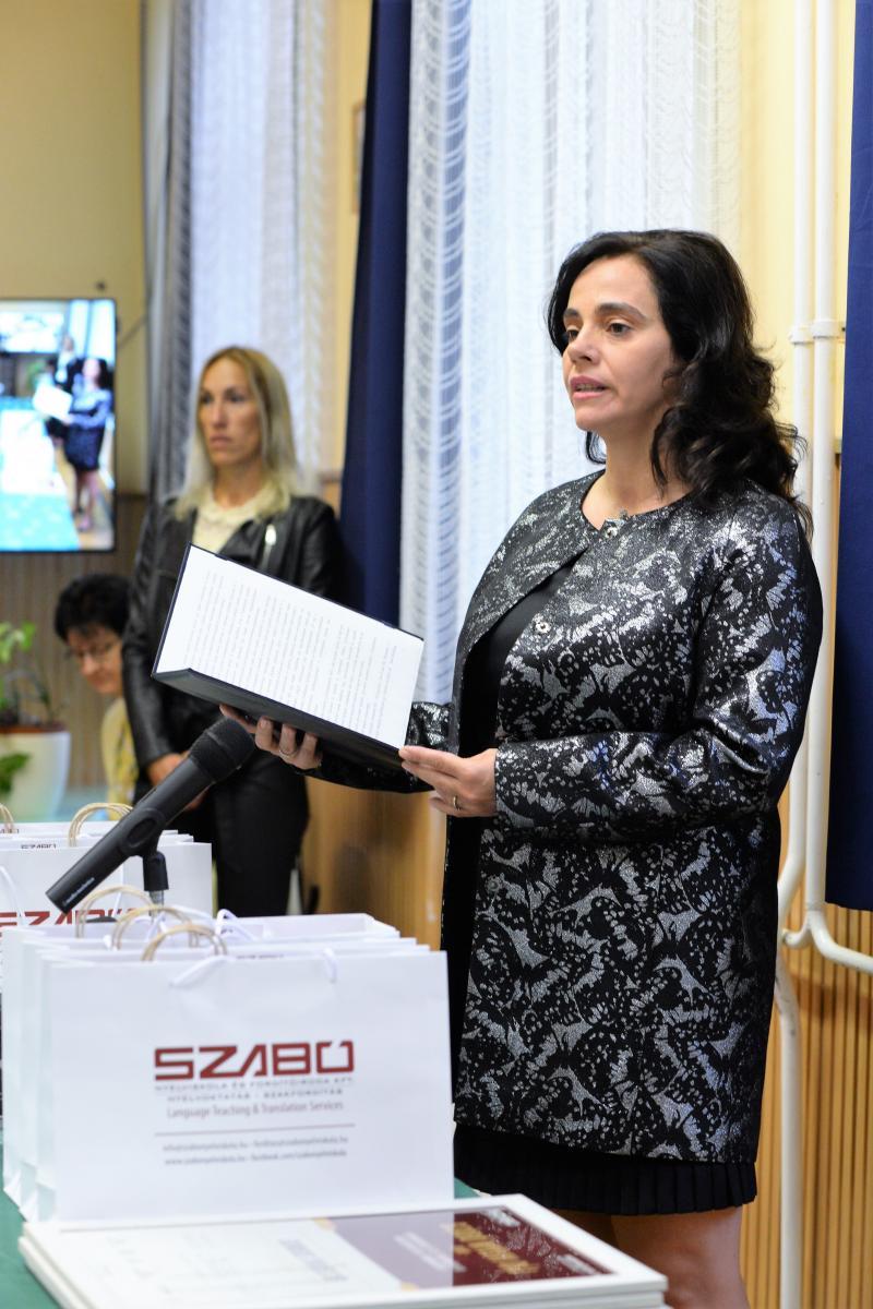 SZABÓ Nyelvi Díj 2020 - átadó ünnepség