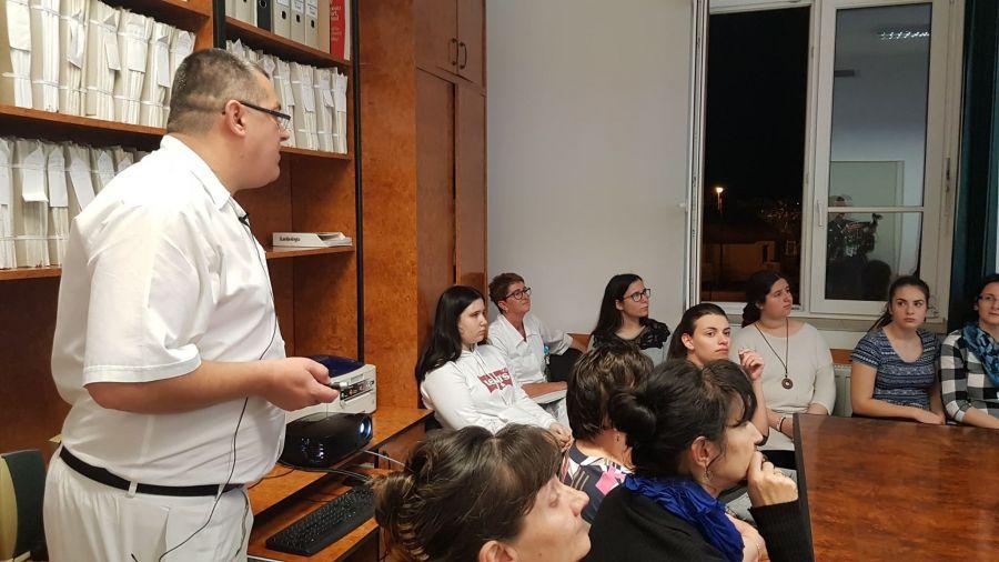 Szakmák éjszakája 2019 - Jósa András Oktatókórház