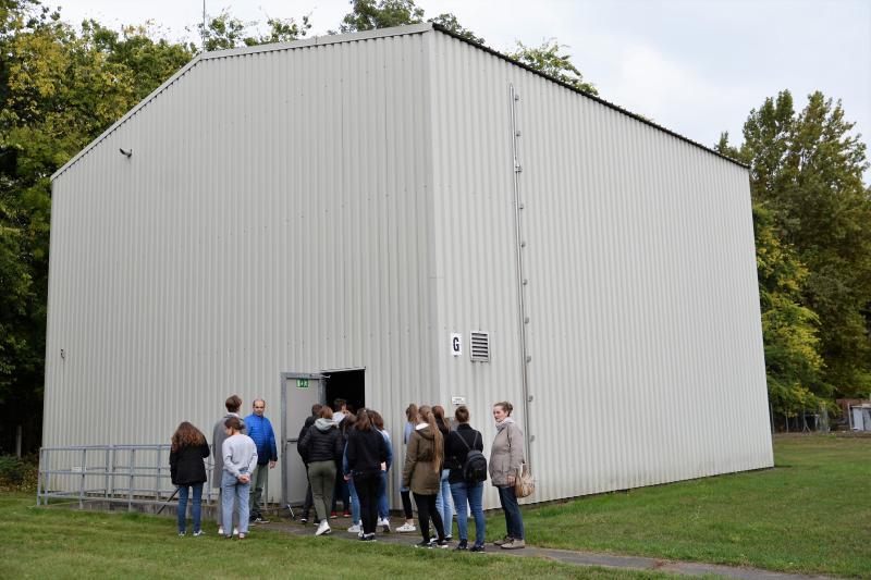 Szemléletformáló program keretében iskolások látogattak a Szennyvíztisztító telepre