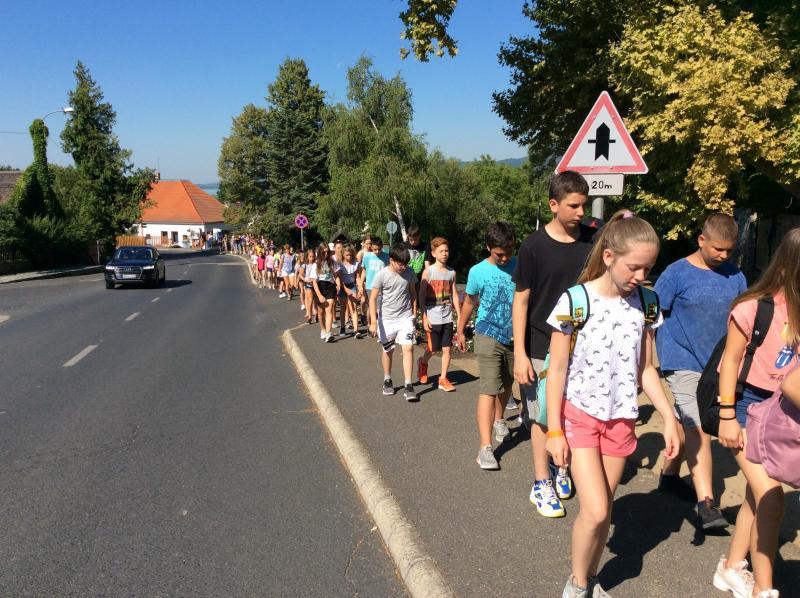 Szigligeti Gyermektábor IV. turnus (Apáczai Csere János Általános Iskola)