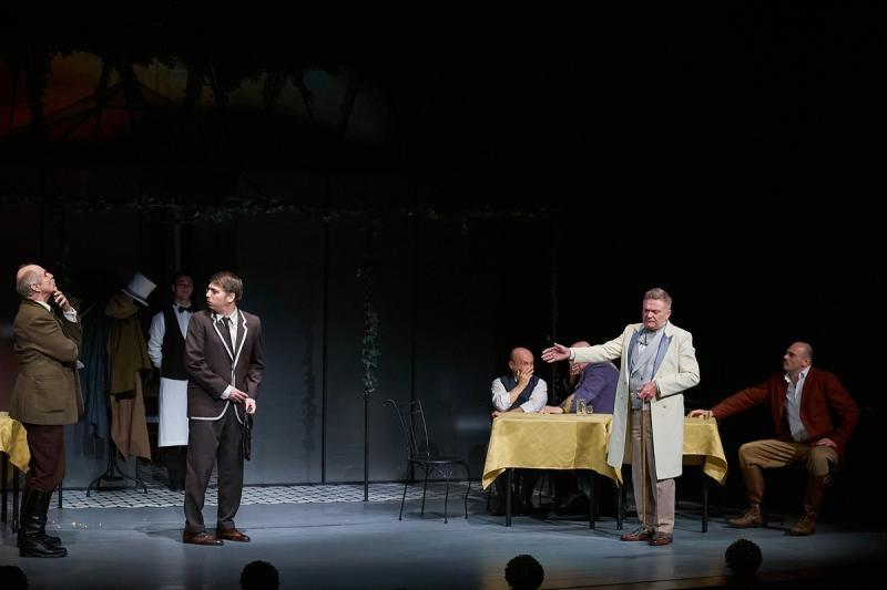 Színházi próba - Úri muri